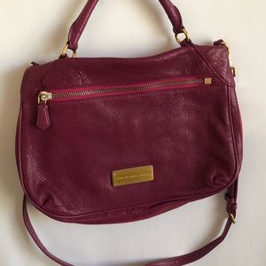 Marc By Marc Jacobs Crossbody Leather Merlot Purse